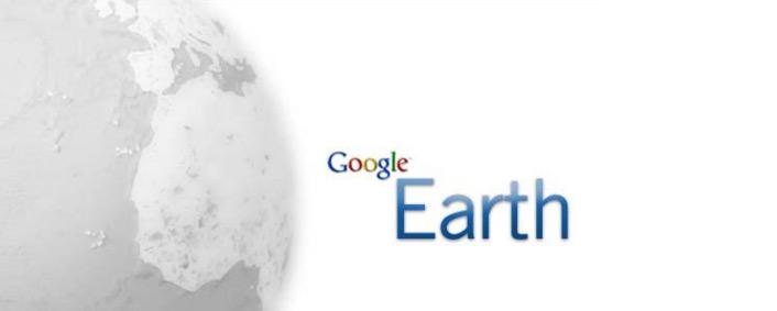 Voyager avec google earth